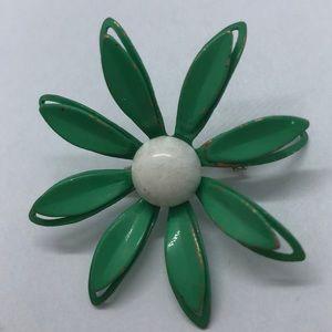 VTG Enamel Flower Brooch/Pin